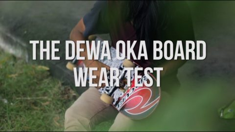 The Dewa Oka Pro Board Wear Test | MotionSk8