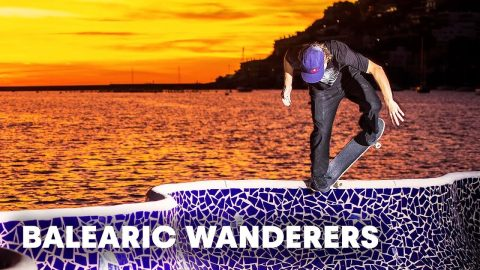 The eclectic Pusher Bearings team skate the Balearics: Valls, Curtin and crew go in! - Red Bull