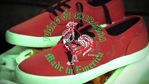The Emerica x Huy Fong Foods Sriracha Collab
