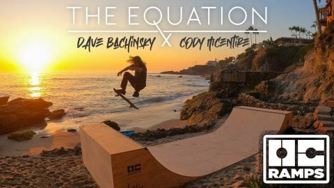 THE EQUATION - Dave Bachinsky & Cody McEntire - Mini Ramp Skateboarding | OC Ramps