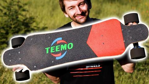 THE FASTEST AND CHEAPEST ELECTRIC SKATEBOARD | TEEMO BOARD - Braille Skateboarding