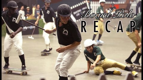 The First Ever Board Polo Match | The Recap | The Berrics