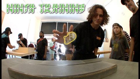 "The First Ever Fingerboard Ninja Training | ""Finga"" Training 