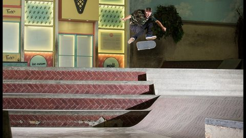 The Gnarliest Trick Ever Done At The Berrics | The Berrics