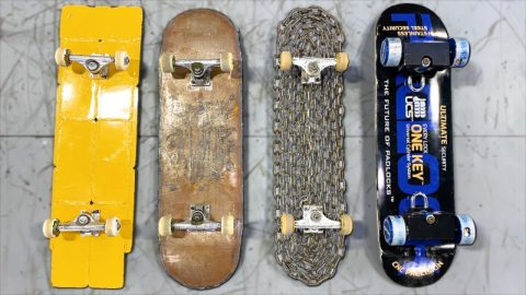 THE HEAVIEST SKATEBOARDS IN HISTORY | Braille Skateboarding