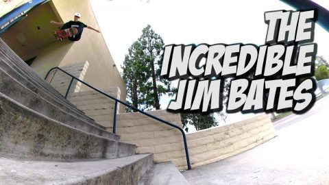 THE INCREDIBLE JIM BATES !!! - NKA VIDS - | Nka Vids Skateboarding