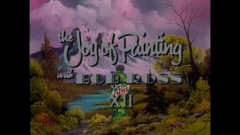 The Joy Of Painting MTN DEW with Bob Ross | Full Episode | Mountain Dew