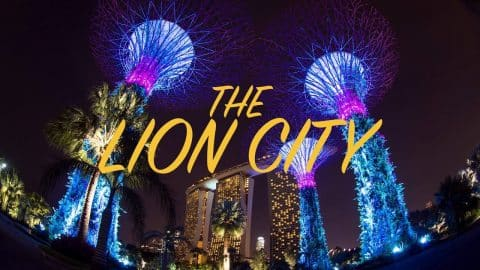 The Lion City - Singapore (シンガポール) - tomothehomeless