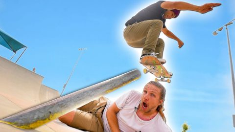 THE LONGEST POLE JAM IN SKATE HISTORY?! | Braille Skateboarding