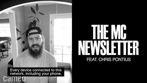 THE MC NEWSLETTER Ft Chris Pontius | Monster Children