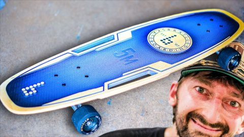 THE MOST UNIQUE SKATEBOARD EVER MADE?! | Braille Skateboarding