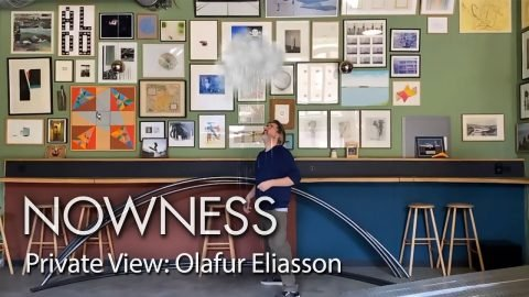 The new Olafur Eliasson AR project you can experience at home | NOWNESS