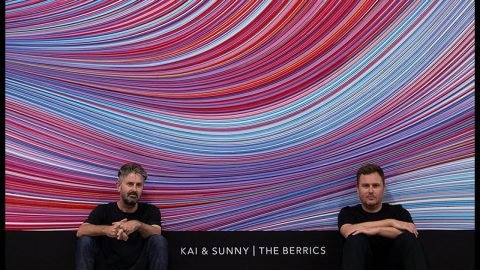 The Newest Addition to The Berrics | Kai and Sunny Mural | The Berrics