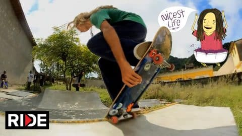 The Nicest Life - Skate and Explore the Coast of São Paulo with Sergio Santoro on RIDE - Episode 2 - RIDE Channel
