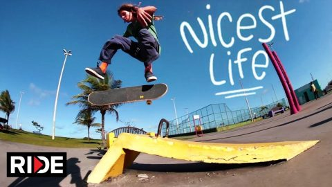 The Nicest Life - Skate and Explore Aracaju with Sergio Santoro - Episode 4 - RIDE Channel