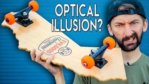 THE OPTICAL ILLUSION SKATEBOARD | Braille Skateboarding