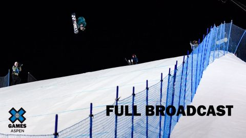 The Real Cost Men's Snowboard Big Air: FULL BROADCAST | X Games Aspen 2020 | X Games