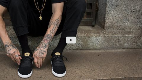The Saint | Dane Vaughn's New Pro Model - SUPRA Footwear