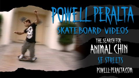 THE SEARCH FOR ANIMAL CHIN CH. 4 SF STREETS | Powell Peralta