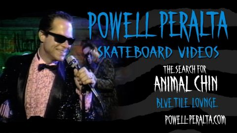 THE SEARCH FOR ANIMAL CHIN CH. 8 BLUE TILE LOUNGE | Powell Peralta
