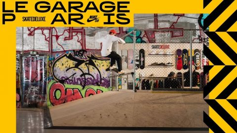 The skatedeluxe team at Le Garage Paris | Skatepark & Pop-Up Shop - skatedeluxe