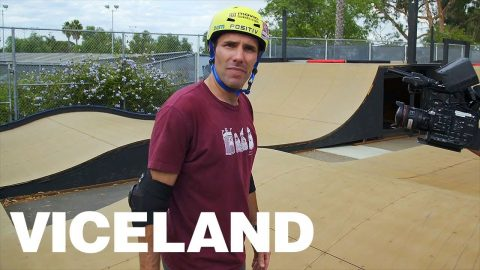 The Skatercross Race at Andy Macdonald's - VICELAND