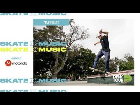 The Sound of Skateboarders: TJ Rogers - Dew Tour