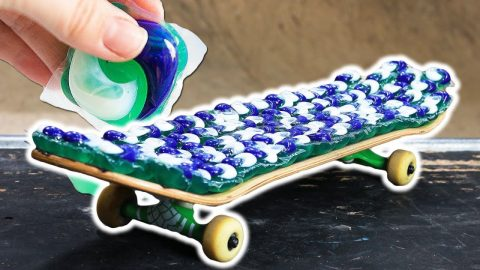 THE TIDE POD SKATEBOARD! - Braille Skateboarding