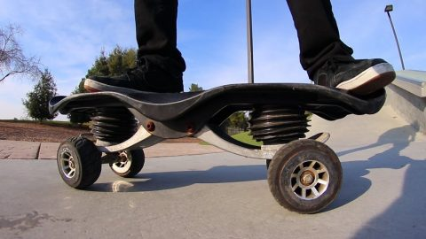 THE WEIRDEST SKATEBOARD INVENTION OF ALL TIME?! - Braille Skateboarding
