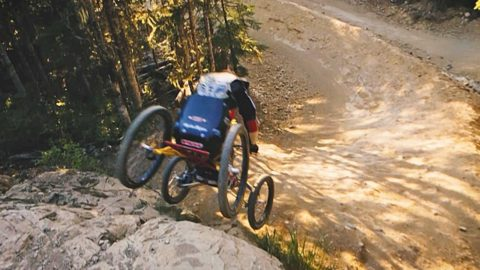 The World's Fastest Mountain Biker on 4 Wheels: Stacy Kohut - Red Bull