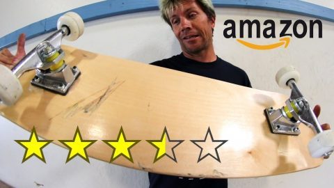 THE WORST REVIEWED BOARD ON AMAZON! - Braille Skateboarding