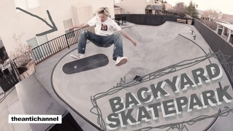 "theantichannel /// ""BACKYARD SKATEPARK"" 