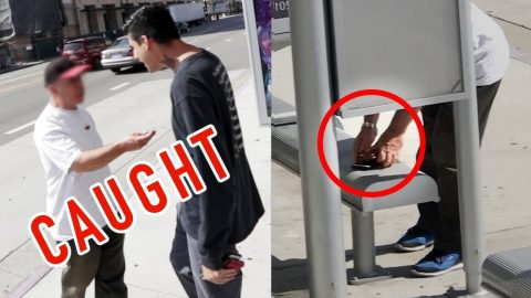THIEF CAUGHT STEALING MY WALLET (FOOTAGE) - Chris Chann