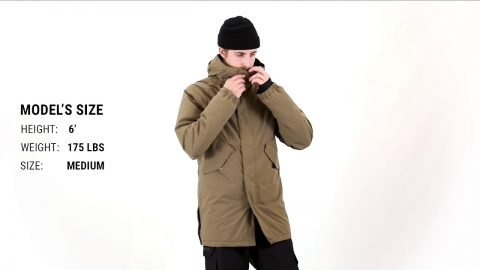 Thirtytwo Lodger Parka Insulated Snowboard Jacket Fit Review – Tactics | Tactics Boardshop
