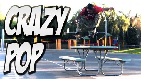 THIS DUDE HAS CRAZY POP !!! - XAVIER ALFORD - NKA VIDS - - Nka Vids Skateboarding