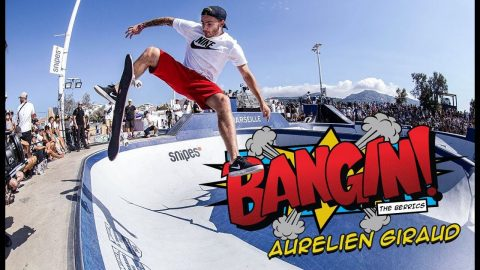 This Guy Can Skate Anything! | Aurelien Giraud BANGIN' | The Berrics