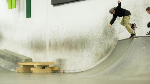 This Is How Chris Joslin Copes With An Injury - The Berrics