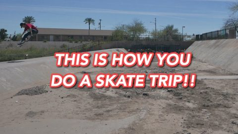 This Is How You Do A Skate Trip!! | Joey Brezinski