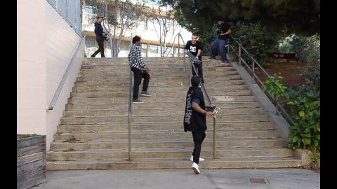 Thrasher cover behind the scenes! - Nyjah Huston
