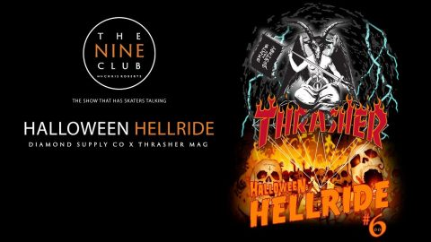 "Thrasher X Diamond ""Halloween Hellride"" 