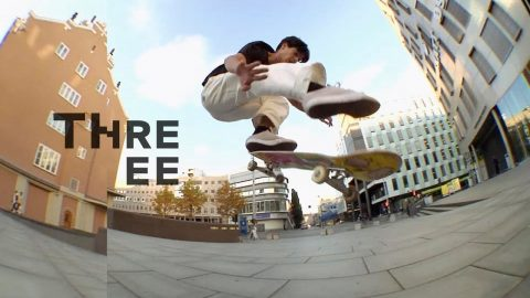THREEE Episode 3 - SOLO Skateboard Magazine