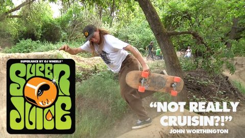 "Thunder Juicin' through the Dirt Jumps | Not Really ""CRUISIN"" with John Worthington 