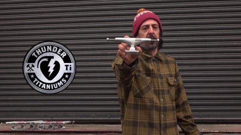 Thunder Titanium Lights Skateboard Truck Review with Frank Gerwer - Tactics.com | Tactics Boardshop