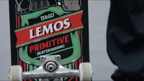 Tiago Lemos Welcome To Primitive Skate | Primitive Skate