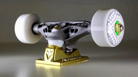 TITANIUM 3D PRINTED TRUCKS! | Braille Skateboarding