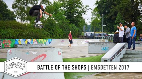 Titus Battle of the Shops 2017 | Skatepark Emsdetten | Skateboard Contest - Titus
