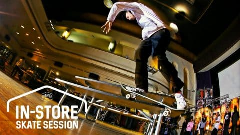 Titus Münster In-Store Skate Session - Titus