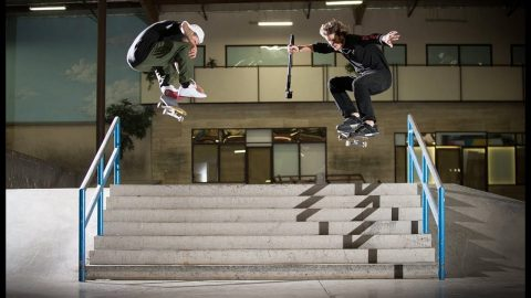 TJ Rogers And Dave Bachinsky Steal The GoPro | The Berrics