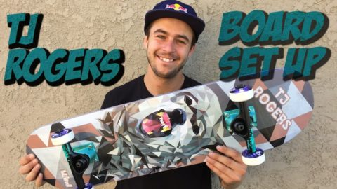 TJ ROGERS BOARD SET UP & INTERVIEW
