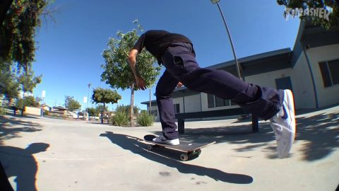Tj Rogers In Color For Days Raw   Blind Skateboards